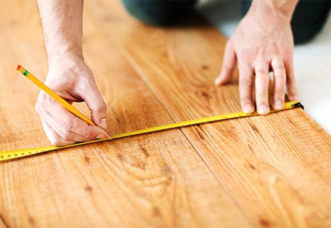 Meten van afstanden voor maatkast